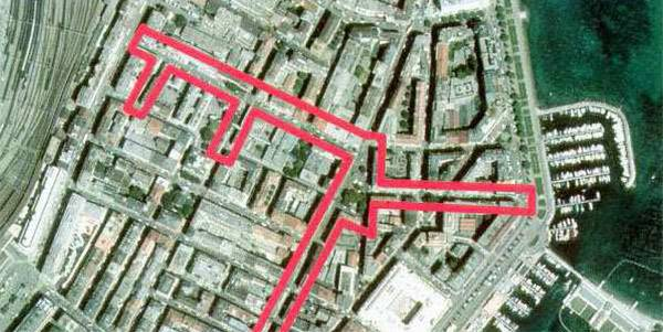 place de la navigation and surroundings, rue du môle and surroundings, rue des pâquis
