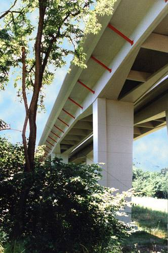 uplans - maintenance of the highway a1 bridges in the versoix area (geneva)